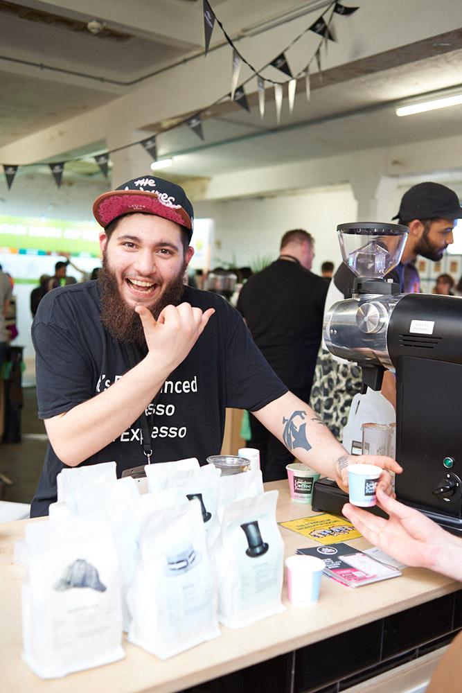 The London Coffee Festival 2020 James Bryant